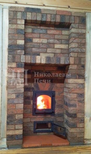"""Банная печь из кирпича ручной формовки """"Донские зори"""""""